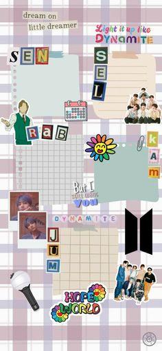Cover Wallpaper, Galaxy Wallpaper, Bts Wallpaper, Girl Scout Logo, Army Room Decor, Polaroid Template, School Timetable, Photo Collage Template, Polaroid Frame