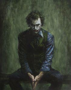 Best Joker Heath Ledger's Dark Knight Joker Batman, The Joker, Joker Heath, Joker Art, Joker And Harley Quinn, Gotham Batman, Batman Art, Batman Robin, Heath Ledger Joker Wallpaper