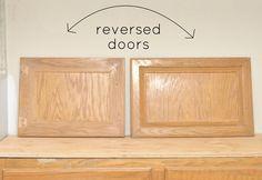Shaker style doors and floating vanity from builder grade cabinet. Cabinet Doors, Bathroom Vanity Makeover, Kitchen Cabinet Doors, Remodel, Cabinet, Floating Vanity, Master Bathroom Vanity, Door Makeover, Cupboard Doors