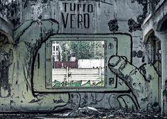 Carlo Vannini - Reggiane. Le Officine Meccaniche Reggiane, uno dei più grandi laboratori di street art d'Europa attraverso il punto di vista del maestro Carlo Vannini.
