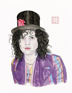 Portrait of Marc Bolan