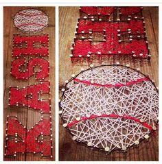 Custom made string art Names logos and symbols by Heartstrings7, $60.00