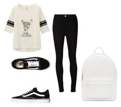 """Untitled #1"" by levip ❤ liked on Polyvore featuring Uniqlo, AG Adriano Goldschmied, Vans and PB 0110"