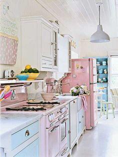 Shabby Retro Chic kitchen