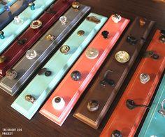 Repurposed hanging storage rack from @Jess Liu Farmer of Bluebird Heaven.