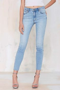 26367c046a Neuw Amorous Tapered Jean - Faded White Jeans