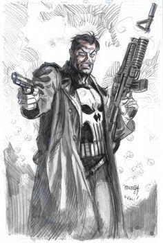 alexhchung:  The Punisher by Dan Brereton