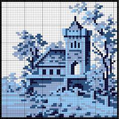 Blue Dutch Tiles...multiple grids on this site.