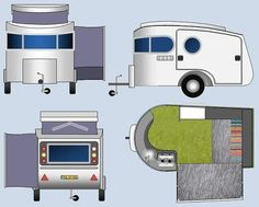 Homemade airstream pop out/up clone
