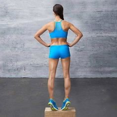 Don't Neglect Your Calves    Try adding this calf workout 1-2 times/wk: Bodyweight calf raises -- 3 sets of 15-25 reps @ 3-2-1 tempo (1 sec up, 2 sec hold, 3 sec down). 30 sec rest between sets. Single-leg calf raise -- 5 sets of 15-25 reps @ 3-2-1 tempo. 15 sec rest between sets. (use 10 pound weight in each hand)