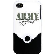 Army Girlfriend iPhone 4 Slider Case