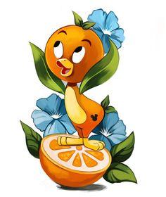 Disney Love, Disney Art, Disney Stuff, Orange Bird, Orange Orange, Fuchs Illustration, Orange Order, Tree Of Life Art, Fox Nursery