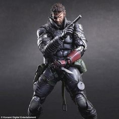 Metal Gear Solid V The Phantom Pain Play Arts Kai VENOM SNAKE Sneaking Suit Ver.