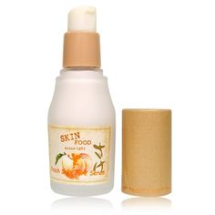 """Skinfood Peach Sake Serum helps keep excess sebum at bay and also makes you want to say, """"cheers, pores — you're going down!"""""""