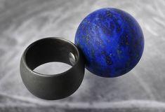 Warwick Freeman, lapis lazuli ball ring