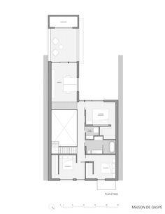 Escala de grises // Maison De Gaspé / la SHED architecture