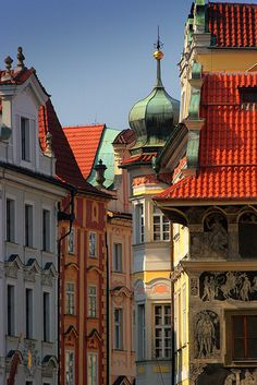 Prague colors - Czech Republic