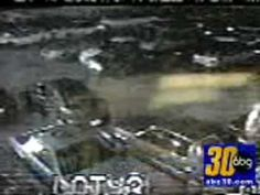 One night in Oklahoma, there were three fatal car crashes that killed several people. The wrecked vehicles were taken to a local impound lot, and the employees there witnessed something amazing on their surveillance cameras: a white figure moving around the destroyed cars.