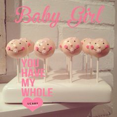 A personal favorite from my Etsy shop https://www.etsy.com/listing/180776097/baby-face-cake-pops-and-baby-shower