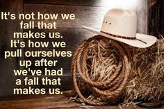 How we pull ourselves up...