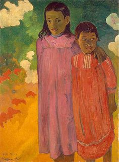 The Two Sisters, Paul Gauguin