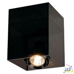 Deckenleuchte ACRYLBOX1er MR16 schwarz/transluzent