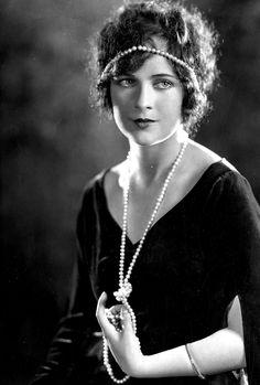 Silent Film Actress Jacqueline Logan, 1924