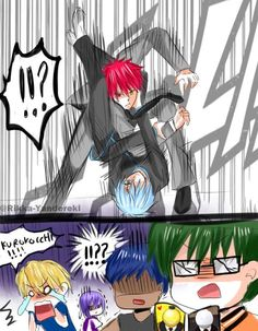 Rikka Yandereki - KNB and Assassination Classroom crossover