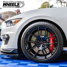 Joe Gatt's Ford Mustang GT350R Shelby on Forgeline One Piece Forged Monoblock VX1R wheels finished in Gloss Black. This wheel does a great job of showing the beautiful Brembo brakes and is one of the lightest wheels offered in the wheel industry. Get a price quote on these by reaching us at 1.888.239.4335 or @WheelsPerformance