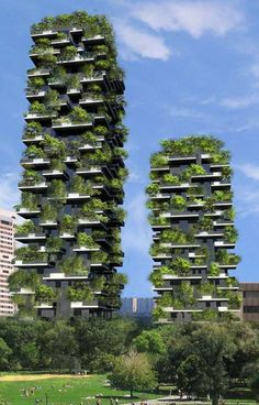 FtTall Apartment Tower To Be Worlds First Building Covered In - 384ft tall apartment will be the worlds first building to be covered in evergreen trees