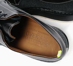 kevlar radial low shoes by over all master cloth