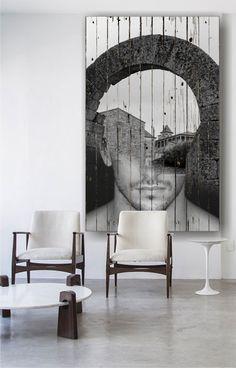 Boltív fakép Contemporary Furniture, Modern Contemporary, Double Exposure Photography, Surrealism, Interiors, Fantasy, World, Double Exposure, Decoration Home