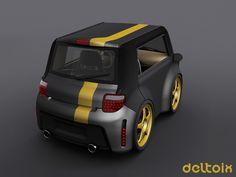 Deltoix Rear Stealth Edition by deltoiddesign on DeviantArt Concept Cars, Deviantart, Vehicles, Rolling Stock, Vehicle, Tools