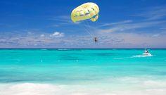 Parasail the Caribbean with the Fun Ship