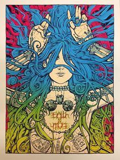 Malleus Faith No More Denver Poster & Giada Print Release