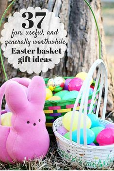 I love filling my kids' Easter baskets--unless I wait until the last minute, and then it stresses me out! Pin this list now; pull it up next time you're at Target or the dollar store, and get the job done well before Easter. Your kids will love it, and you won't be freaked out. Win!