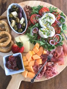 20 Ideas, Inspiration and Tips for Antipasto and Small Bites - Proud Italian Cook Roasted Eggplant Dip, Gourmet Desserts, Plated Desserts, Fig Spread, Cherry Tomato Salad, Grilled Artichoke, Antipasto Platter, Creole Recipes, Charcuterie Board