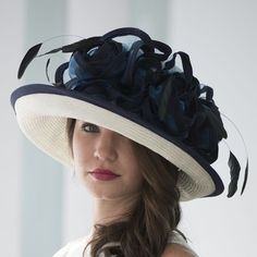 03d9492ec56 Tracey is a parisisol medium up brim hat designed by Christine A Moore. It  has