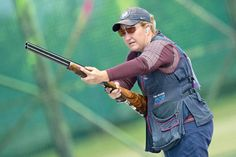 Kim Rhode    Rhode turned in a stellar performance to take the gold in women's skeet shooting. She not only took the top medal, but she also etched her place in the history books. Rhode is the first American to win medals in five consecutive Olympic Games — with this being her third Olympic gold.
