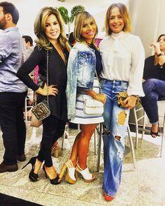 Noite com as amigas na inauguração da @bobstorefortaleza no @iguatemifortaleza. Festa maravilhosa! #estiloiguatemi #andreafialho
