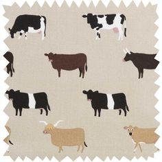 TEA TOWEL FRESIAN COWS /& CALVES DAIRY BELLES COLLECTION 100/% COTTON
