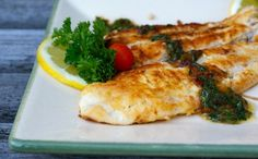 Grain-Free Pan Fried Coconut Flounder from realfoodforager.com.  Love this simple dish!!