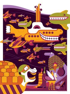 Tom Whalen's Yellow Submarine