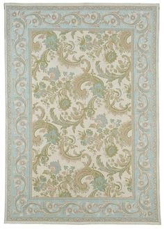 Laura Ashley Baroque rug- this arrived today. Big 3mx2m looks very grown up in my grown up lounge, but now I need cushions