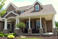 Beautiful Stone House Copperton Laytite and Cut Cobble J&N Stone Exterior House Colors Combinations, Stone Exterior Houses, Clear Lake, White Walls, Colonial, House Plans, Spaces, Architecture, Outdoor Decor