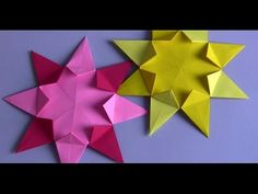 HOW TO MAKE A ORIGAMI WELD 8 RAYS