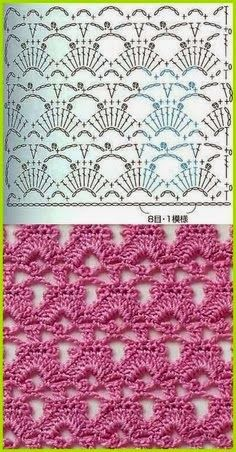 Watch This Video Beauteous Finished Make Crochet Look Like Knitting (the Waistcoat Stitch) Ideas. Amazing Make Crochet Look Like Knitting (the Waistcoat Stitch) Ideas. Crochet Stitches Chart, Crochet Diagram, Crochet Motif, Knitting Stitches, Crochet Designs, Knitting Patterns, Crochet Patterns, Knitting Ideas, Confection Au Crochet