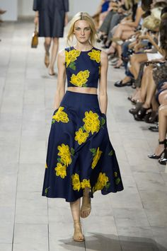 Michael Kors spring 2015 collection show. Photo: Imaxtree
