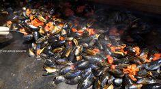Moules au Chorizo à la Plancha, Recette de Moules au Chorizo à la Plancha par Brigitte B.