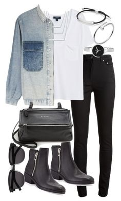 """Untitled #18833"" by florencia95 ❤ liked on Polyvore featuring Acne Studios, MANGO, MiH, Givenchy, 3.1 Phillip Lim, Monica Vinader, Cartier, Christian Van Sant and Yves Saint Laurent"